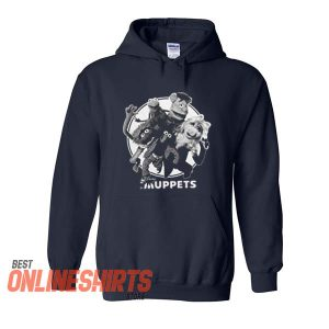 The Muppets Group Noir Hoodie