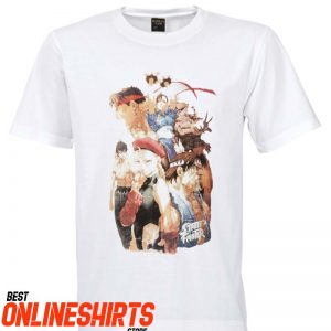 Street Fighter Characters T-Shirt